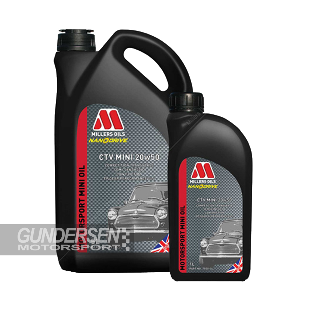 Millers CTV Mini Oil  20w50  5lit