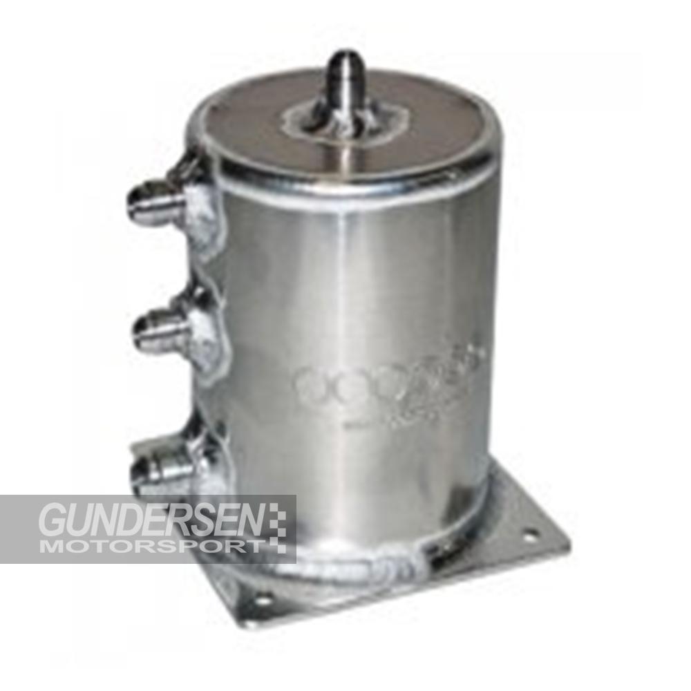 Fuel catch tank 1 ltr m/gjenger