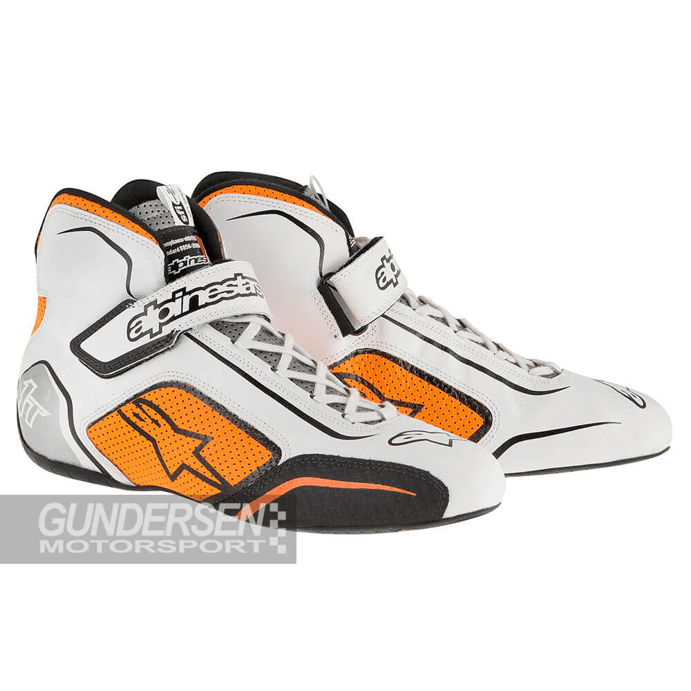 Alpinestars fia sko Tech 1-T - Orange