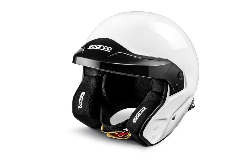Sparco Fia hjelm Pro RJ-3 Hvit