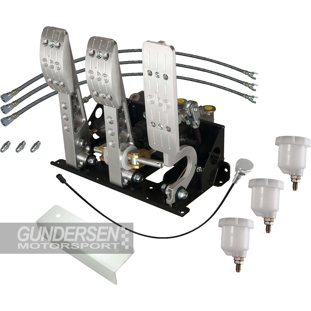 Obp Pedalbox V2 floor mount pump fram