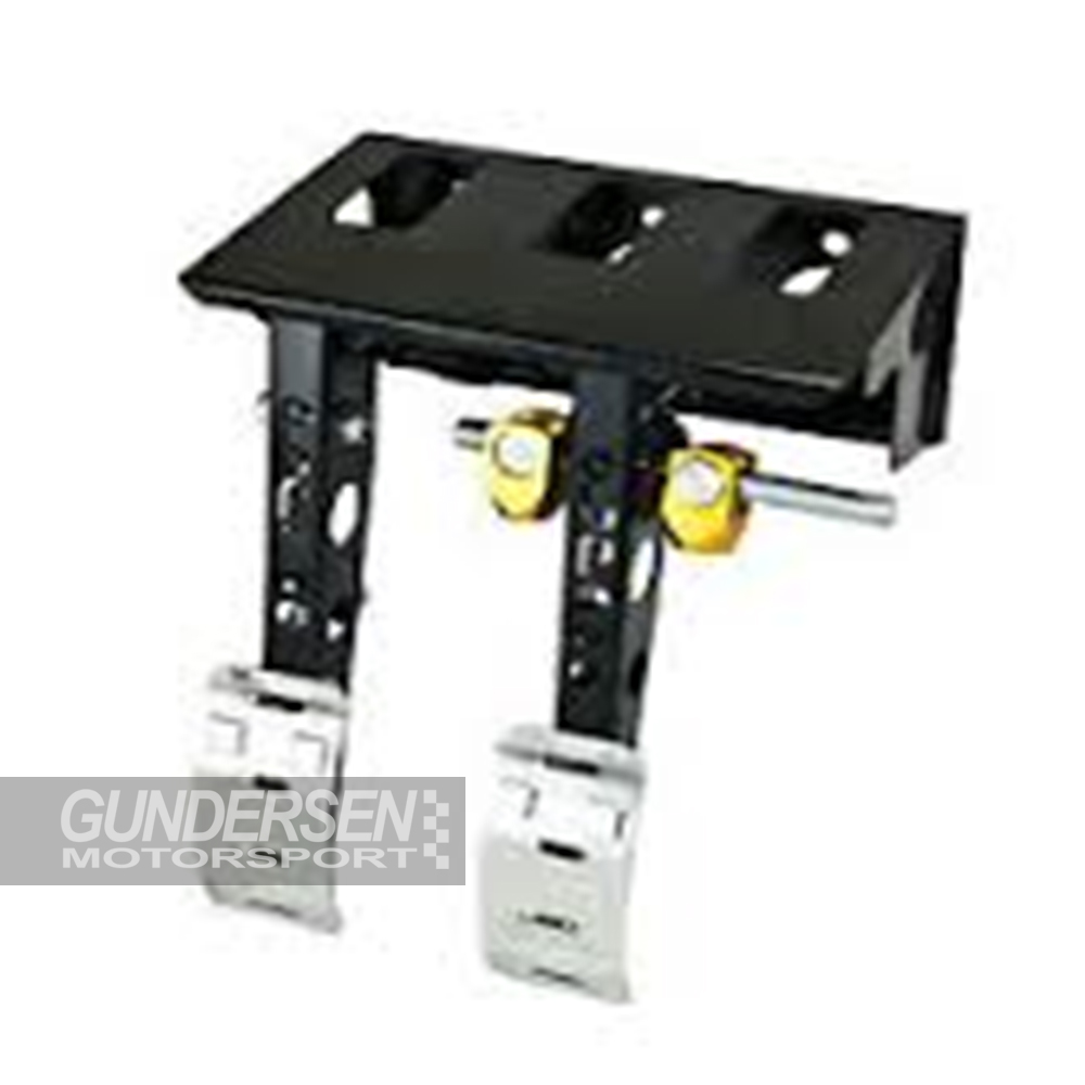 Prorace gulv.mont pedalbox m/vogge 3 syl