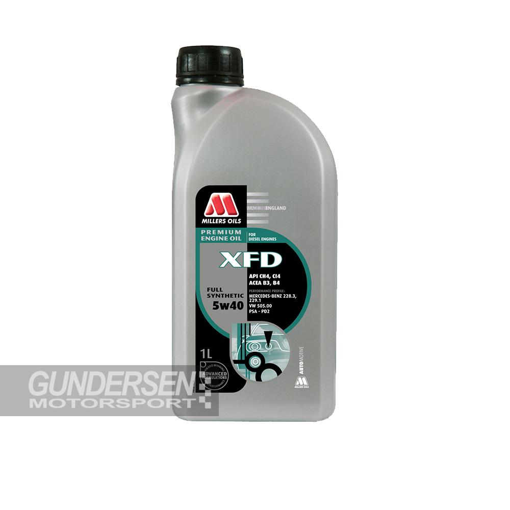 Millers XFD 5w/40 1 lit
