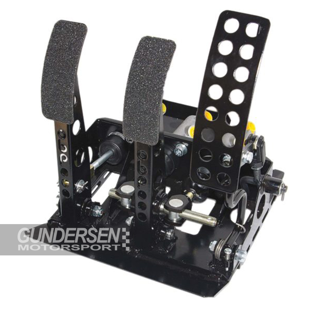 Pedalbox univ  m/hydr kompl