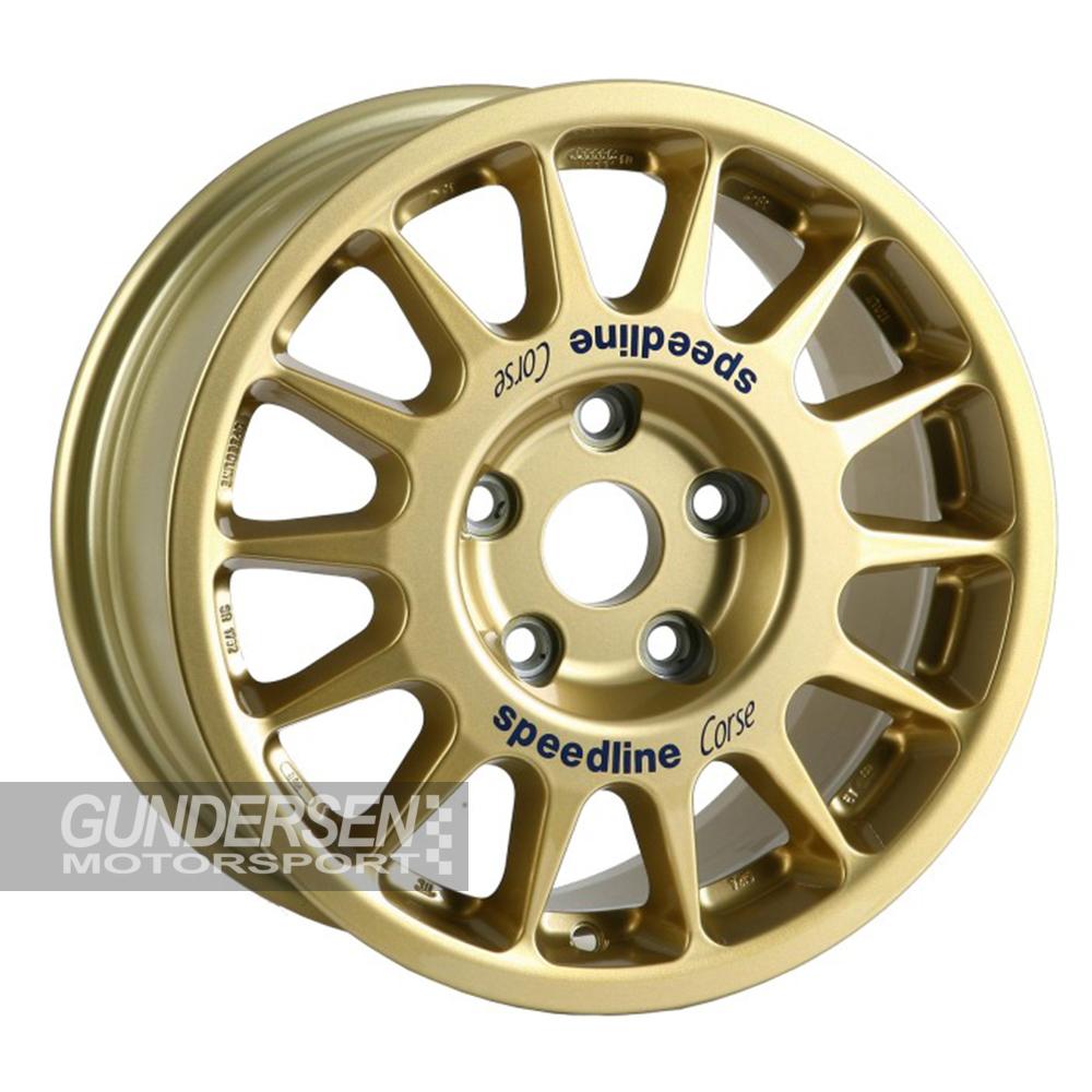 Speedline 5,5x16 Subaru N14 gold