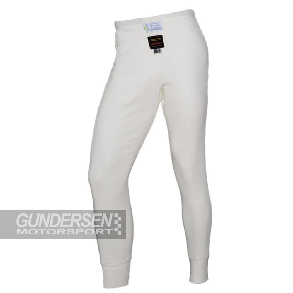 P1 FIA Undertøy bukse hvit