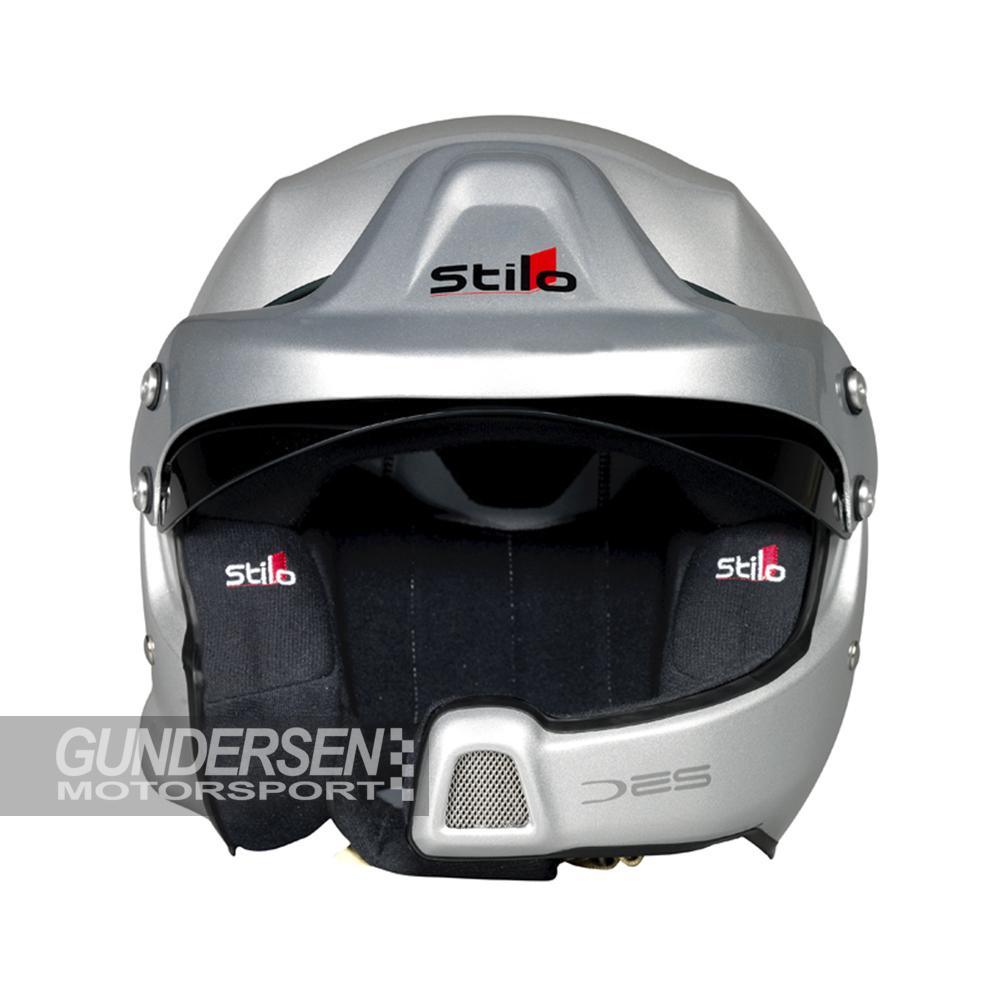 Stilo WRC hjelm m/int com sølv