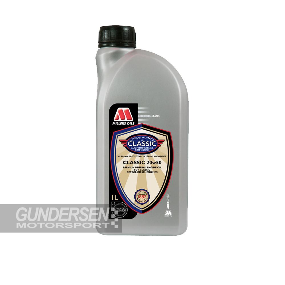 Millers oil Classic perf 20w/50  1 lit