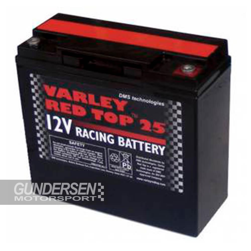 Varley Batteri Red Top 25
