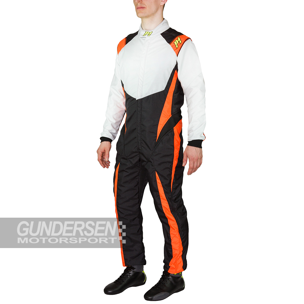 P1 fia dress RS-Grit  Svart / Sølv / Orange