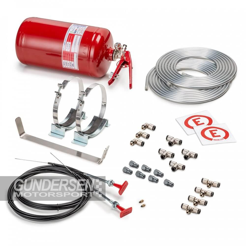 Sparco sentralslukker Fia mekanisk Skum 4,25lit Komplett kit