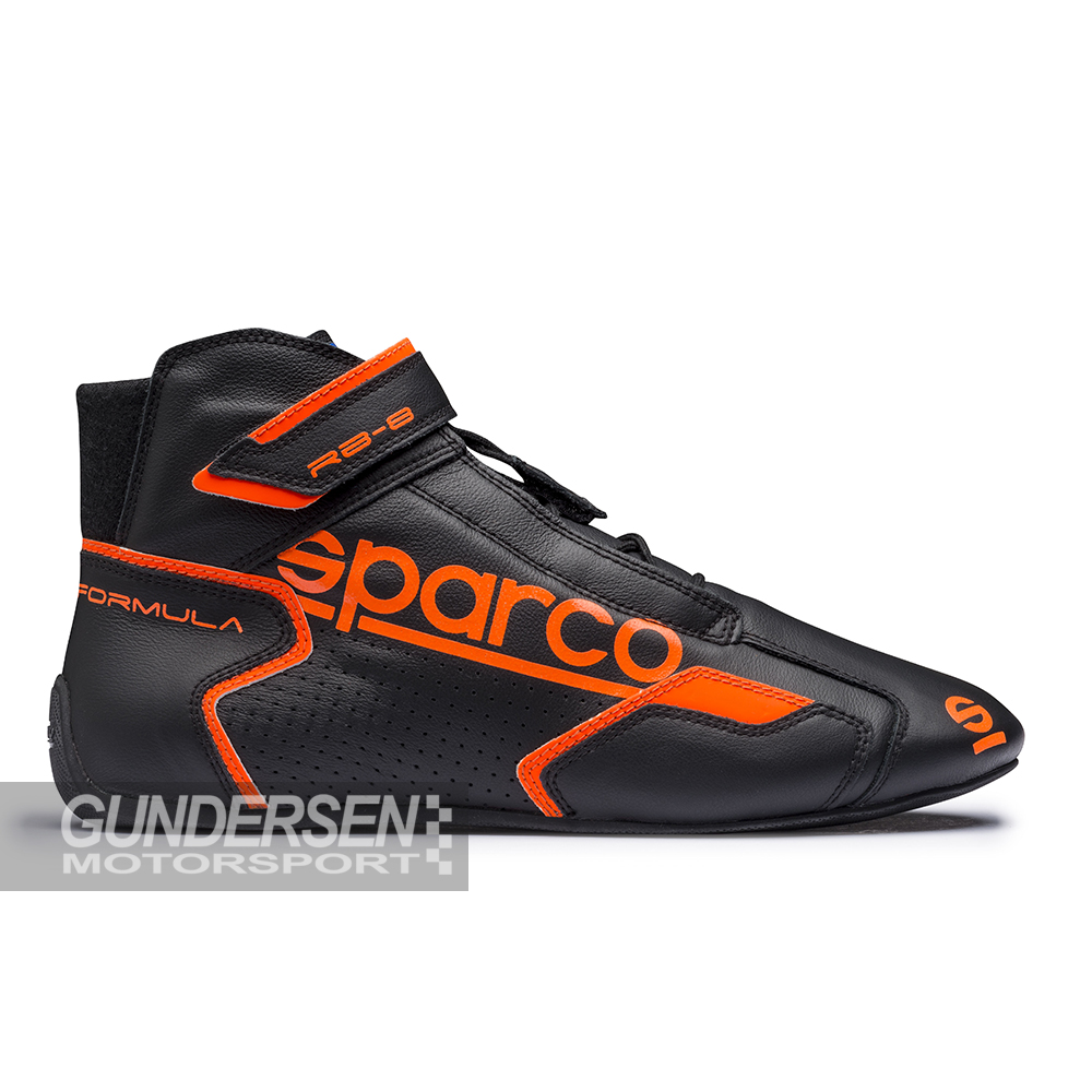 Sparco Fia sko Formula RB-8.1  Svart / Orange