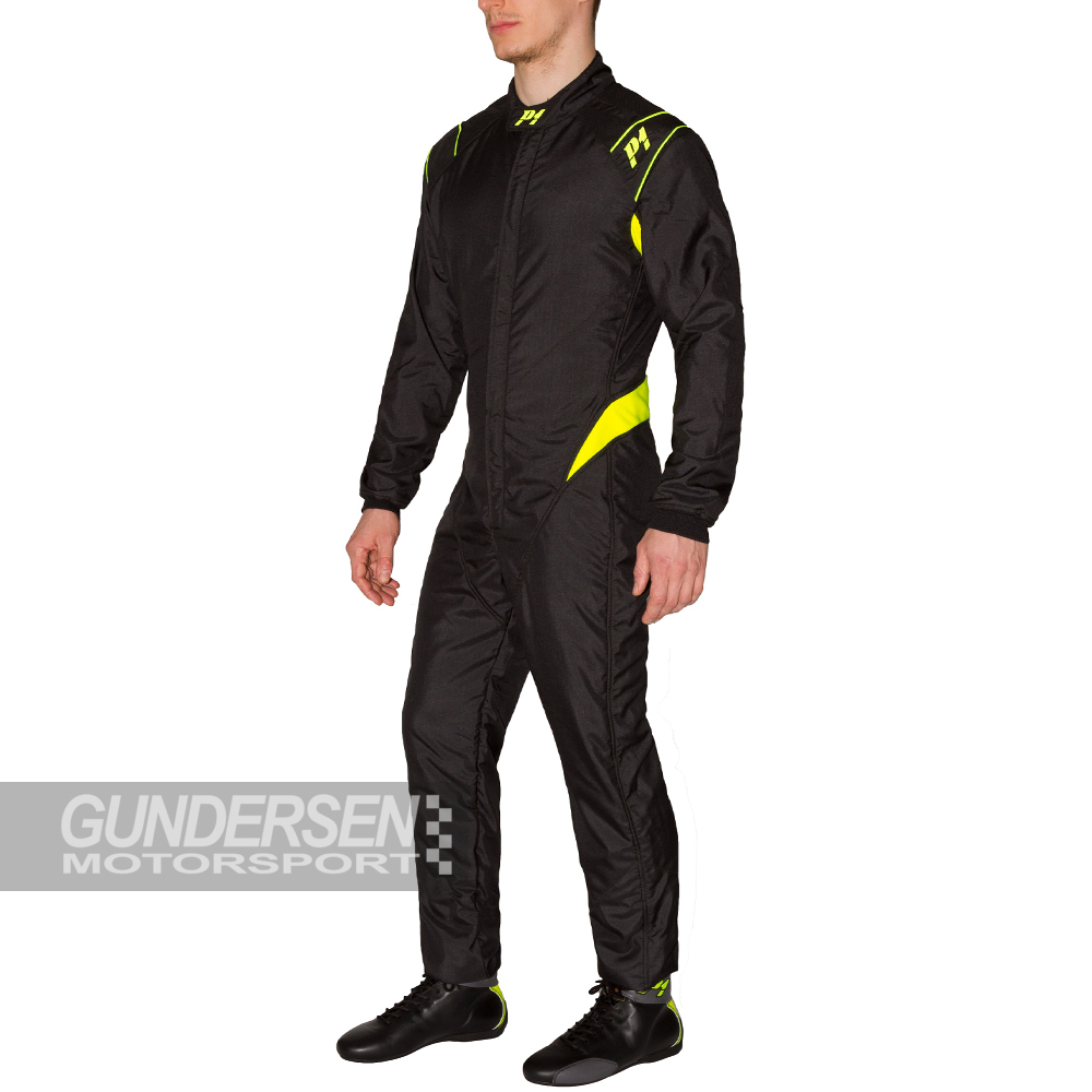 P1IA Dress RS-Formula SVART/GUL