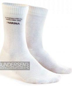 Marina Fia sokker M2  Hvit