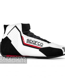 Sparco FIA Kjøresko X-Light  Hvit/Rød