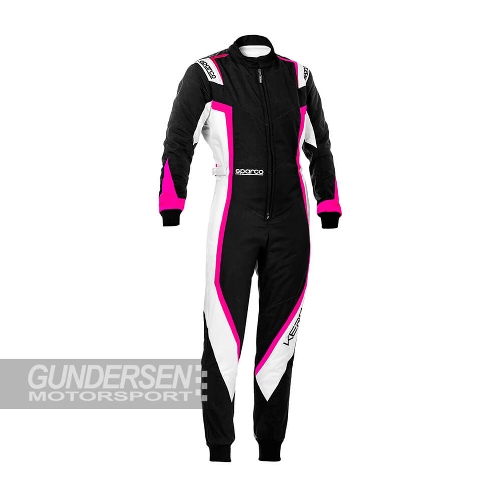 Sparco Gokart Dress Kerb Lady Svart/Rosa