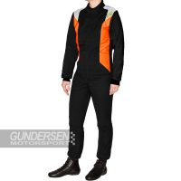 P1 fia dress smart J9 Junior Svart / Orange