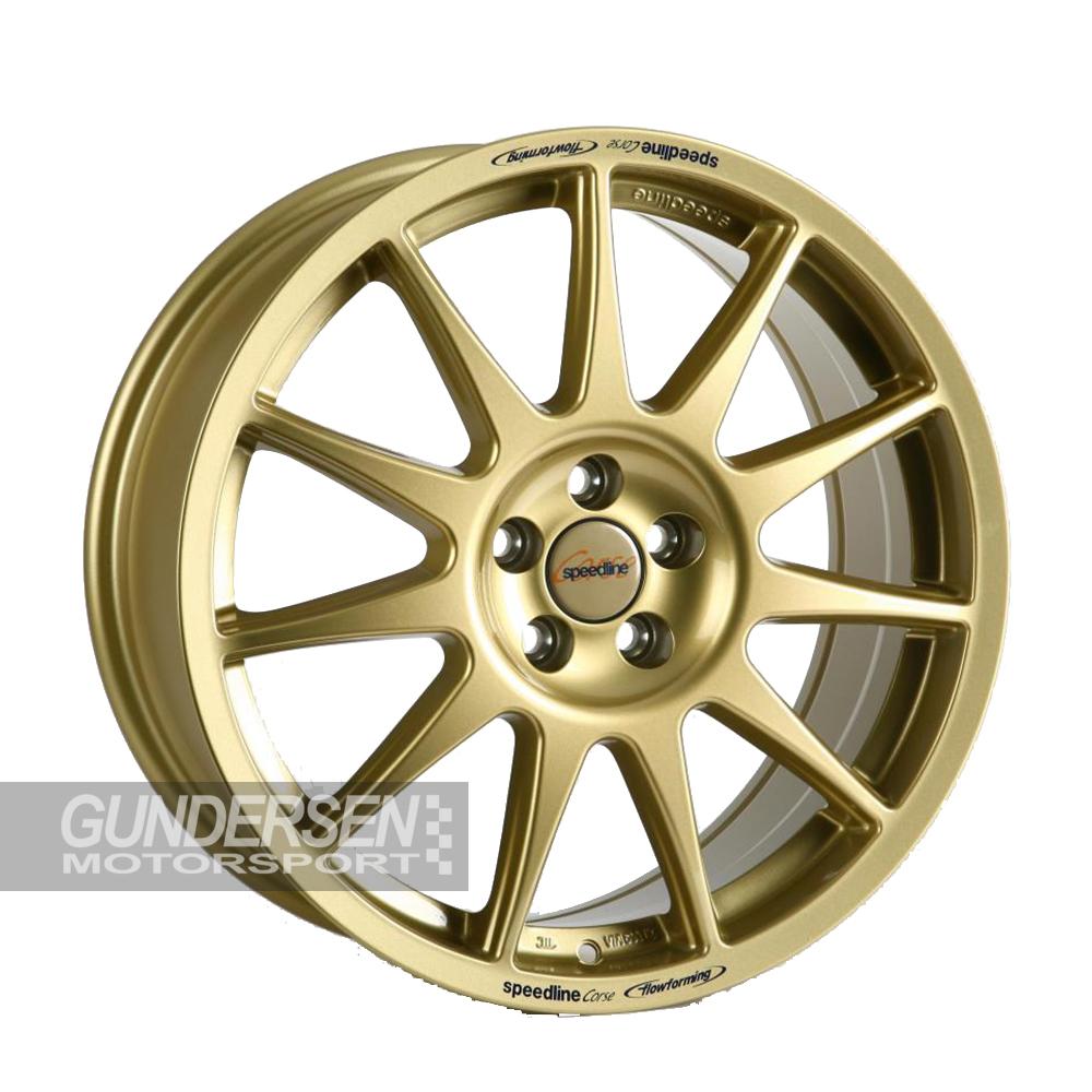 Speedline 2120 8x18 5x100 et48  Subaru Gold