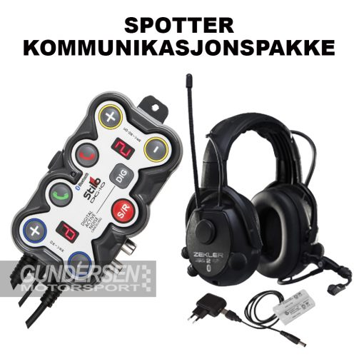 Spotter pakke - Stilo dg10-Zekler 412rdb
