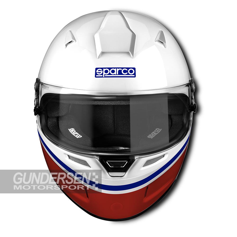 "Sparco Fia Hjelm Air Pro rf-5w ""Martini Racing"""