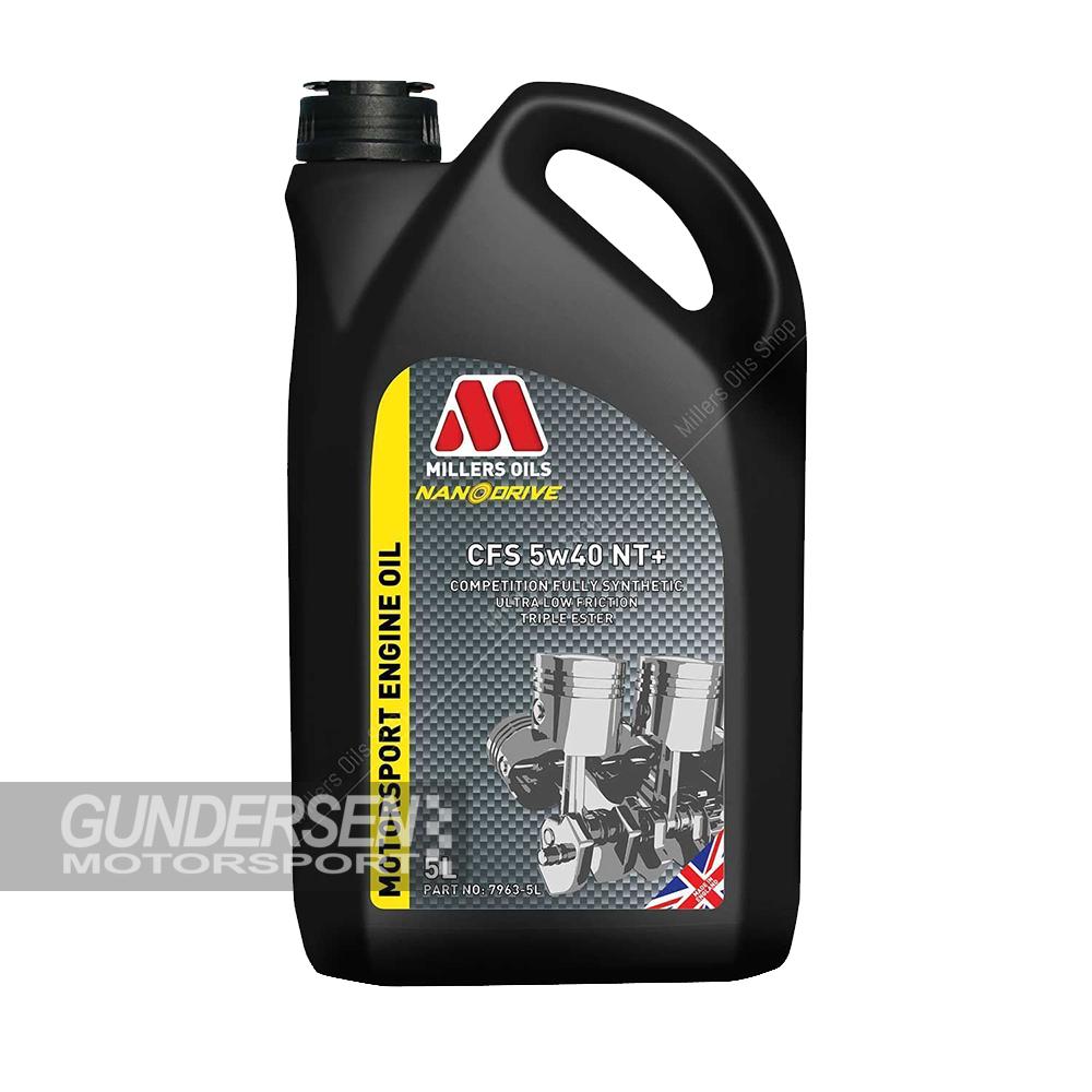 Millers Motorsport Olje CFS 5W/40 NT+ 5L
