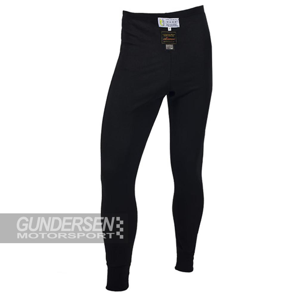 P1 FIA undertøy bukse svart