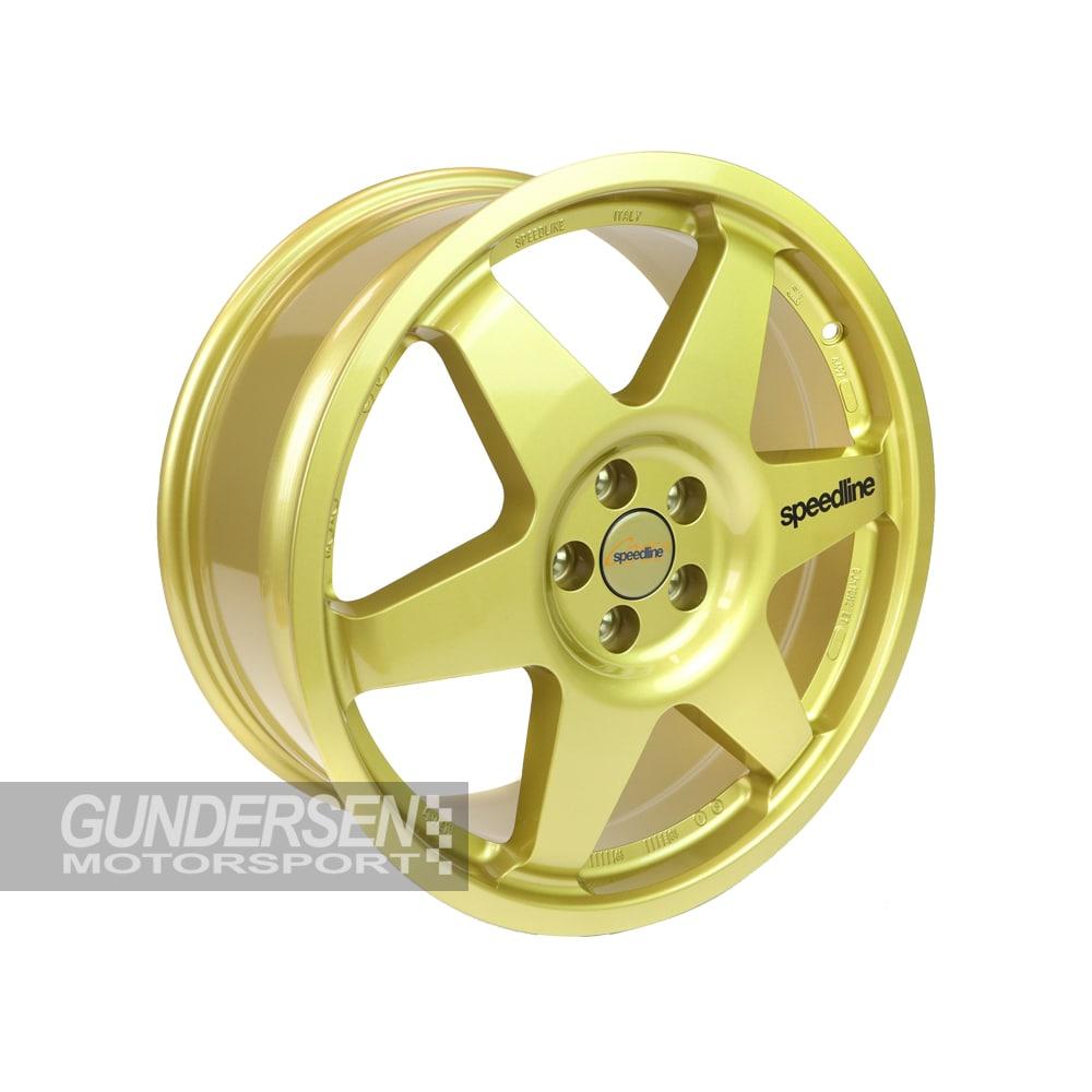Speedline 2013c  8x18 5x100 et 48 Subaru gold