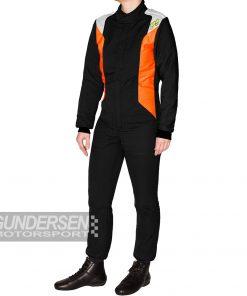P1 fia dress smart J9 Junior Svart / Orange