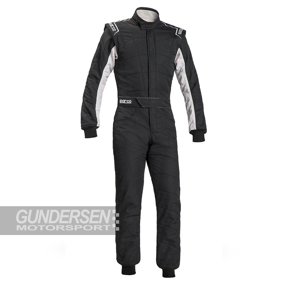 Sparco FIA dress RS 2.1  Svart / Hvit