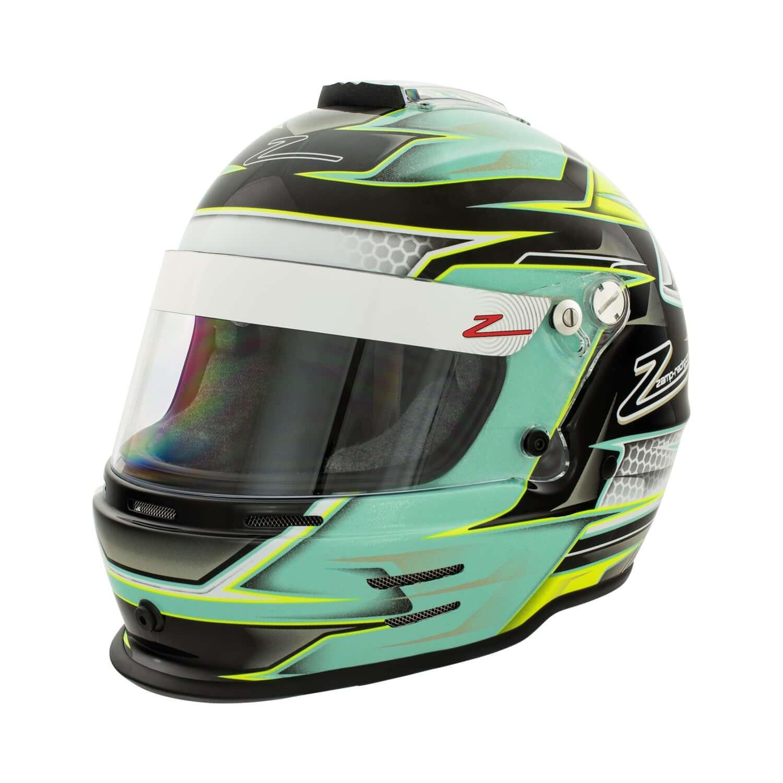 ZAMP CMR hjelm RZ42Y Green/Silver