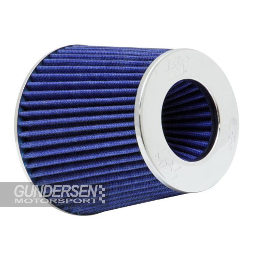 76mm KN Luftfilter blå
