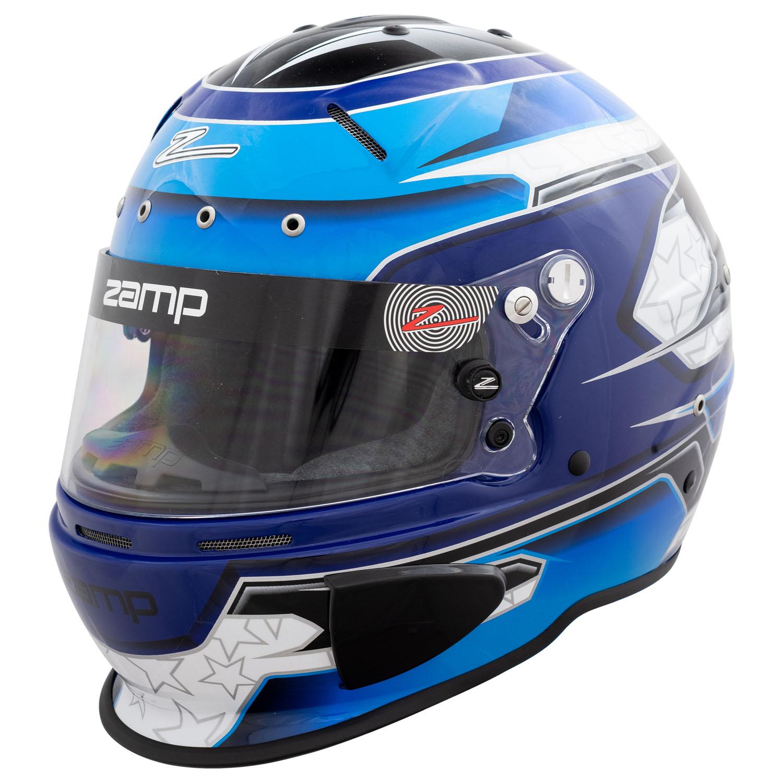 Zamp Fia hjelm RZ 70E Switch Blue