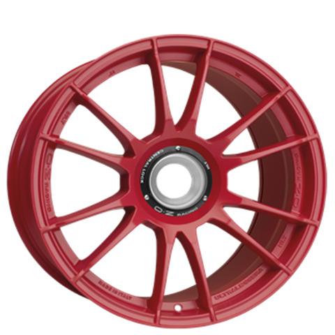 OZ Felg Porsche 9x20  Centerbolt red