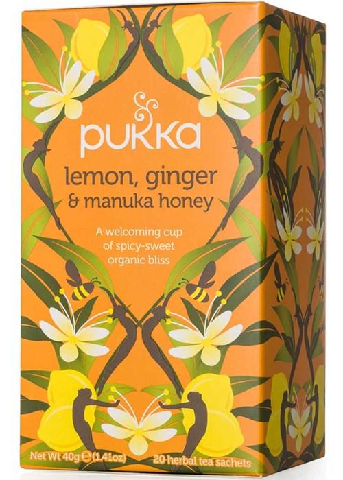 Lemon, ginger & manuka honey