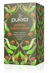 Ginseng matcha green