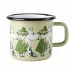 Emaljekopp stor Moomin and freinds