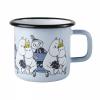 Emaljekopp stor, Moomin friends, blå