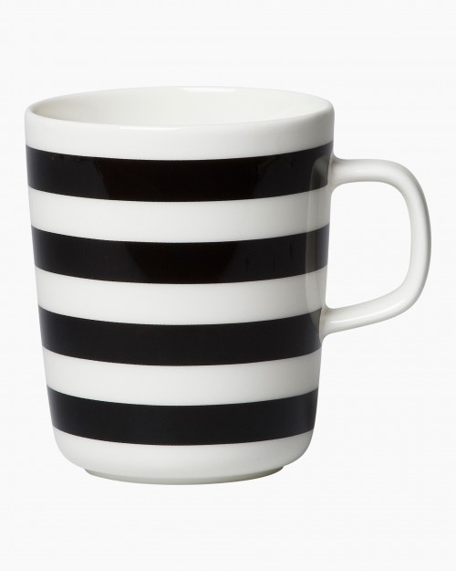 Tasaraita mug 2,5dl black