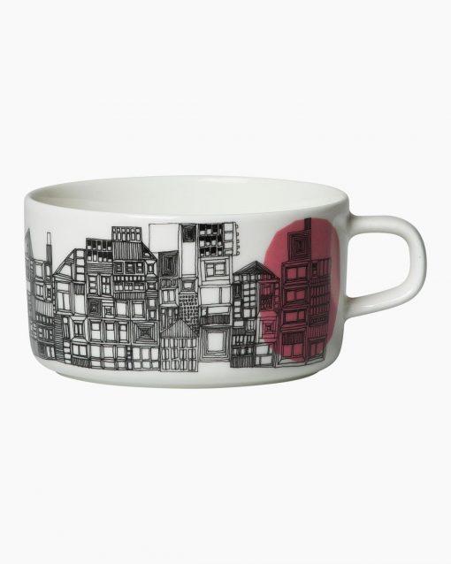 Siirtolap teacup 2,5dl bygninger
