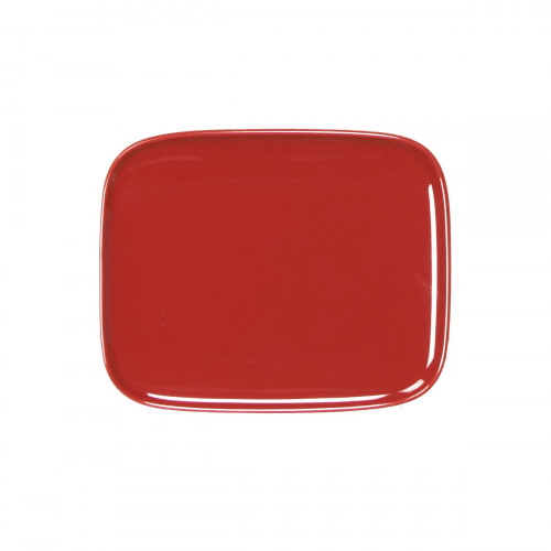 Oiva plate red 12*15