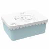 Matboks plast hvit rev