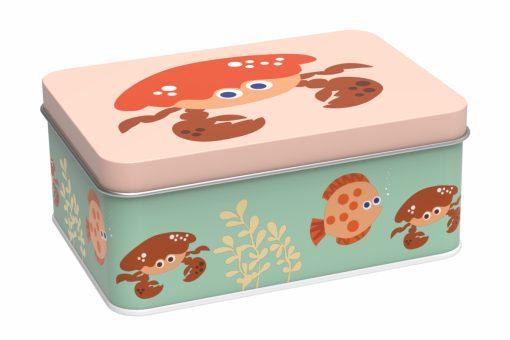 Lunch box krabbe