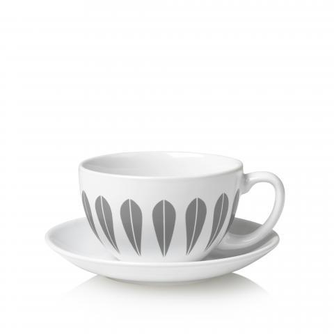 Tea cup grey