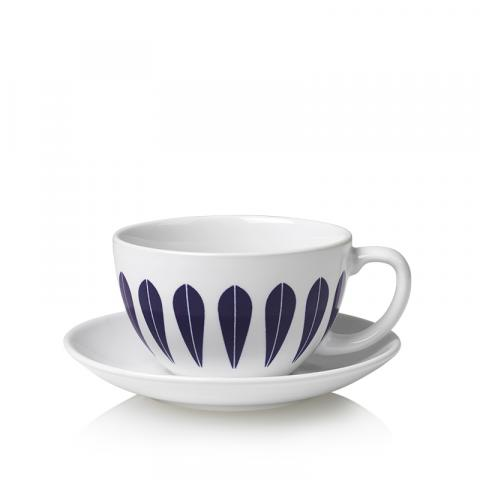 Tea cup dark blue