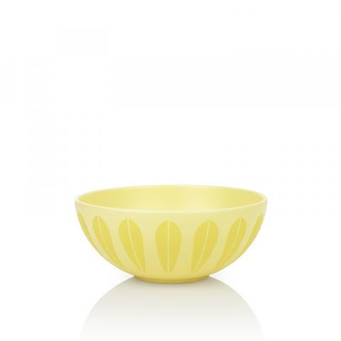 Lotus bowl gul 24 cm
