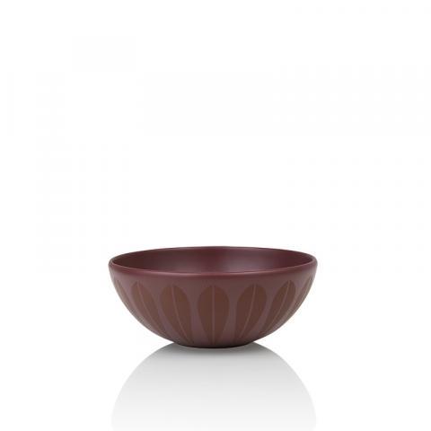Lotus bowl vinrød 18 cm