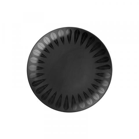 Lotus fat svart 21 cm