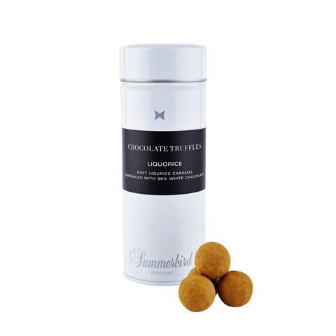 Chocolate truffles liquorice 100gr