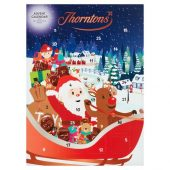 Thorntons santa milk adventskalender