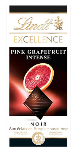 Lindt intense pink grapefruit (dark)